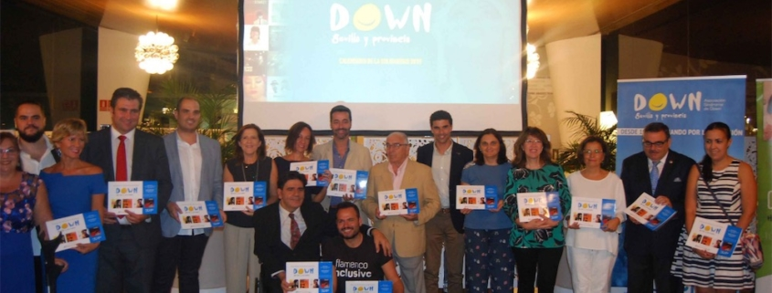 Abades triana presentacion calendario sindrome down 2018