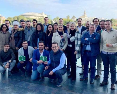 Presentación torneo de padel en Sevilla